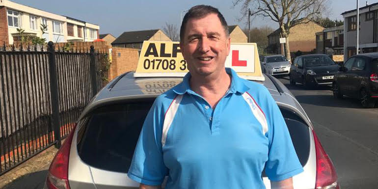 Driving Instructor - Bill at Alfies Driving School