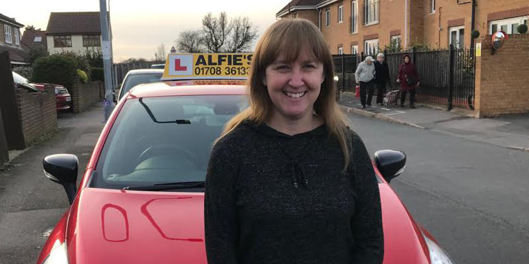 Driving Instructor - Sarah at Alfies Driving School